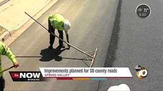 Improvements planned for San Diego County roads