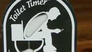 'Toilet Timer' Limits Toilet Time, Preventing Long Waits for the Bathroom - Video