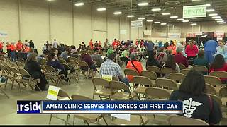 AMEN Clinic returns to Boise offering free health care through Friday