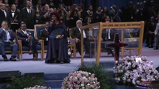 WATCH: Chaka Khan performs at Aretha Franklin's funeral - Video