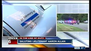 State of Indiana memorial police car dons the names of Indiana law enforcement lost - Video