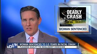 Maryland woman sentenced to 3.5 years in fatal crash - Video
