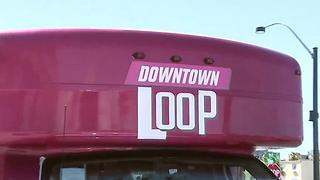 Free shuttle service officially launches in downtown Las Vegas - Video