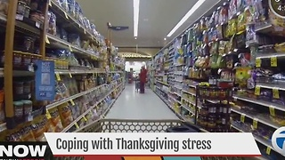 Help! How to lower Thanksgiving stress - Video