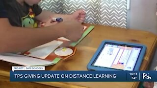 TPS provides update on distance learning