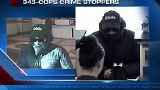 Police investigate two robberies minutes apart - Video