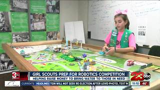 Local Girl Scouts gear up for robotics competition in Visalia