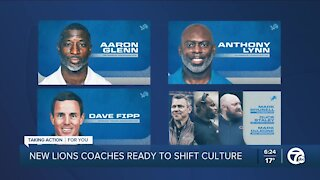 New Lions coaches ready to shift culture