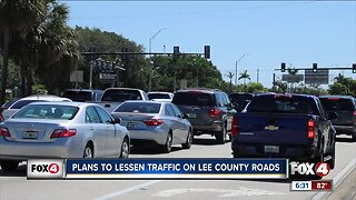 Plans to lessen traffic on Lee County Roads