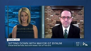 Mayor GT Bynum talks about his re-election