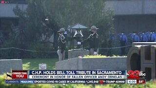 CHP holds bell toll tribute in Sacramento