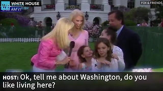 Kellyanne Conway Learns Firsthand That Her Daughters Love The Spotlight - Video
