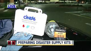 Preparing disaster supply kits ahead of Irma - Video