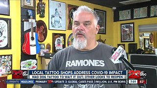 Local Tattoo shops speak out during Stay at home order