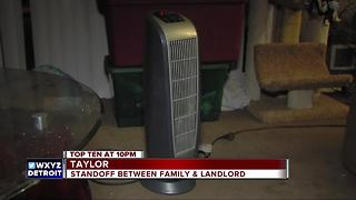 Standoff between family and landlord leaves them cold - Video