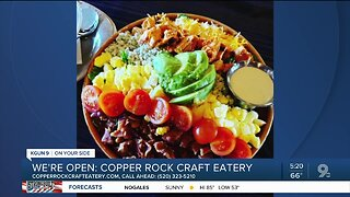 Copper Rock Craft Eatery open for business