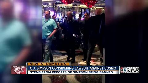 O.J. Simpson threatening to sue Cosmopolitan