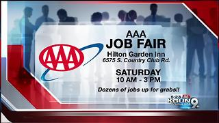 Looking for a job? AAA opens new call center - Video