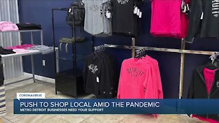 Push to shop local amid the pandemic