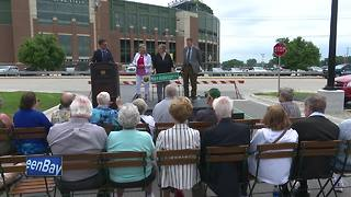 Road dedicated to Mike Aubinger - Video