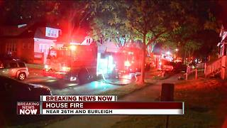 House fire displaces 6 people - Video