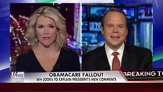 Kelly File: Did Obama Win Re-election by Lying to Americans About ObamaCare? - Video