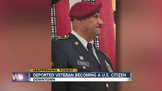 Deported U.S. Army veteran granted citizenship