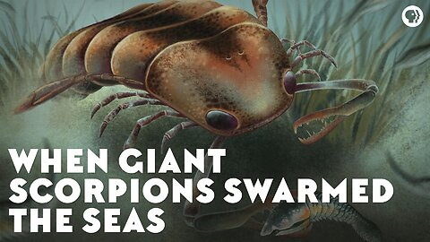 When Giant Scorpions Swarmed the Seas