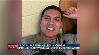 Bakersfield Marine dies in crash in San Diego - Video