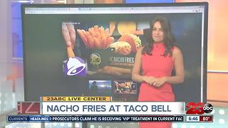 Nacho fries back at Taco Bell - Video