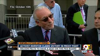 Activist investor Peltz claims victory in proxy fight - Video