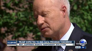 Rep. Mike Coffman plans to file a rare petition to force Congress to vote on DACA future - Video