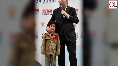 Turkish President Calls 6 Year Old Girl A Future Martyr