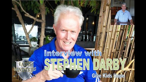Interview with Stephen Darby