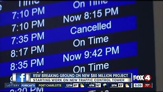 RSW to break ground on new control tower project Thursday