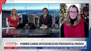 Former Canine Officer Receives Presidential Pardon
