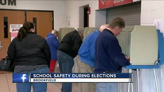 Elmbrook parents worried about school polling places - Video