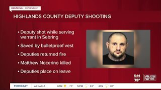 Wanted man killed in deputy-involved shooting in Highlands County: Sheriff