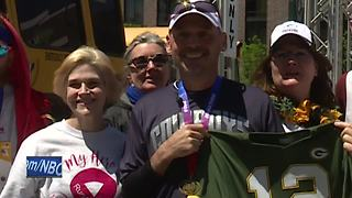Man raising money for colleague fighting cancer - Video