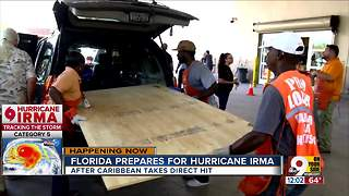 Florida prepares for Hurricane Irma - Video