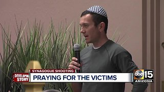 Valley citizens offer Sunday prayers for Pittsburgh synagogue shooting victims