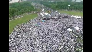Islamist Groups Stage Huge Rally in Jakarta Ahead of Presidential Election