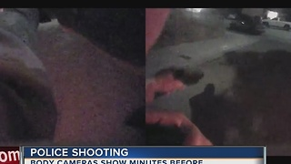 Body camera footage released in officer-involved shooting - Video