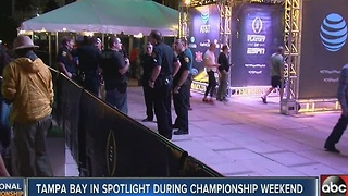 Tampa Bay in spotlight during Championship weekend - Video