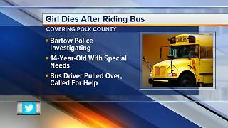Child with special needs dies after having medical issue on school bus - Video