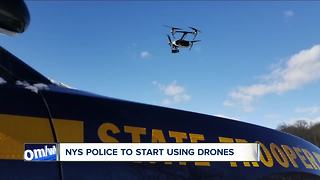 New York State Police to start using drones - Video