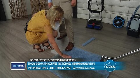 Zerorez- See The Magic For Yourself and For Your Carpets