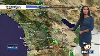 10News Pinpoint Weather for Tues. Aug. 21, 2018 - Video