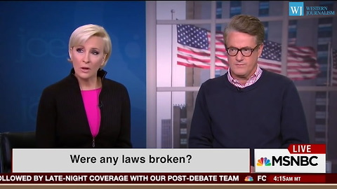 Morning Joe Tears Into Hillary Clinton About Trumps Taxes - Get Off Your High Horse