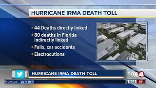 National Hurricane Center updates Hurricane Irma death toll